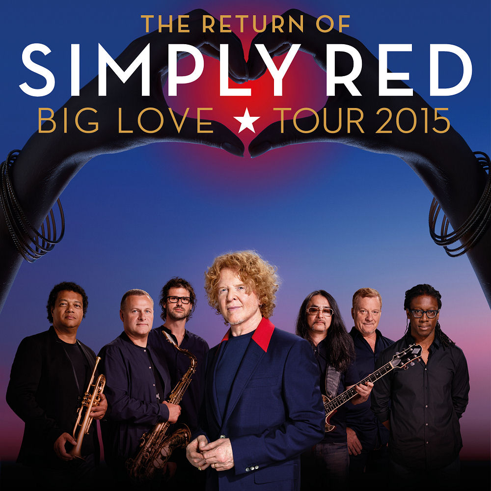 Simply Red Hospitality Tickets