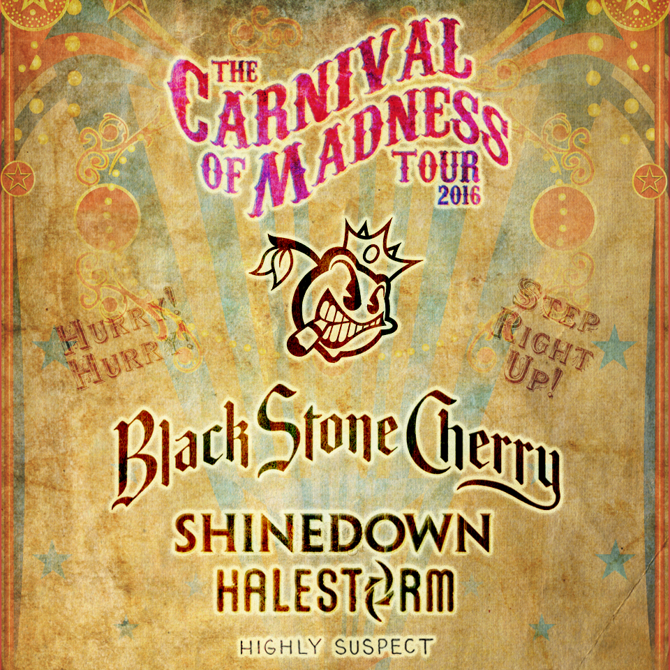 Black Stone Cherry, Shinedown and Halestorm Hospitality Tickets