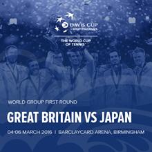 Davis Cup by BNP Paribas First Round, Barclaycard Arena, Birmingham Tickets