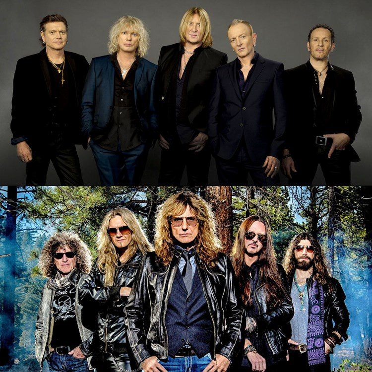 Def Leppard and Whitesnake tickets