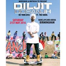 Diljit Dosanjh, Barclaycard Arena, Birmingham Tickets