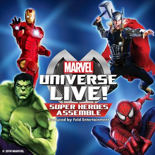 Marvel Universe Live Hospitality Tickets