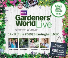 BBC Gardeners' World Live, the NEC Birmingham Tickets