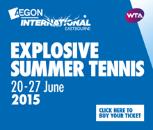 Aegon International Eastbourne 2015, Devonshire Park, Eastbourne Tickets