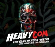 HeavyCon, NEC, Birmingham Tickets