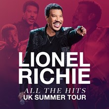 Lionel Richie, UK Venues Tickets