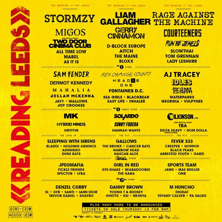 Leeds Festival tickets
