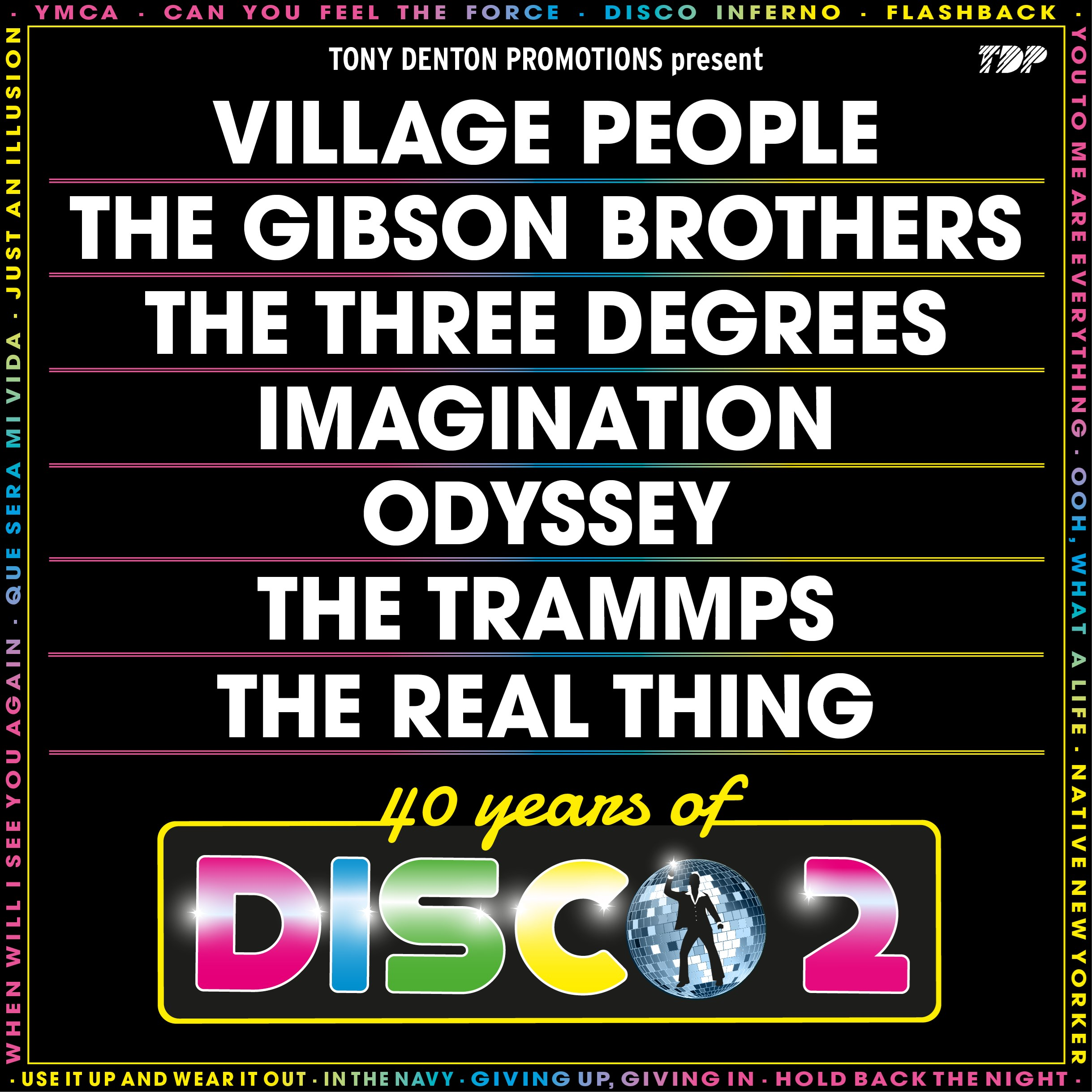 40 Years Of Disco Hospitality Tickets