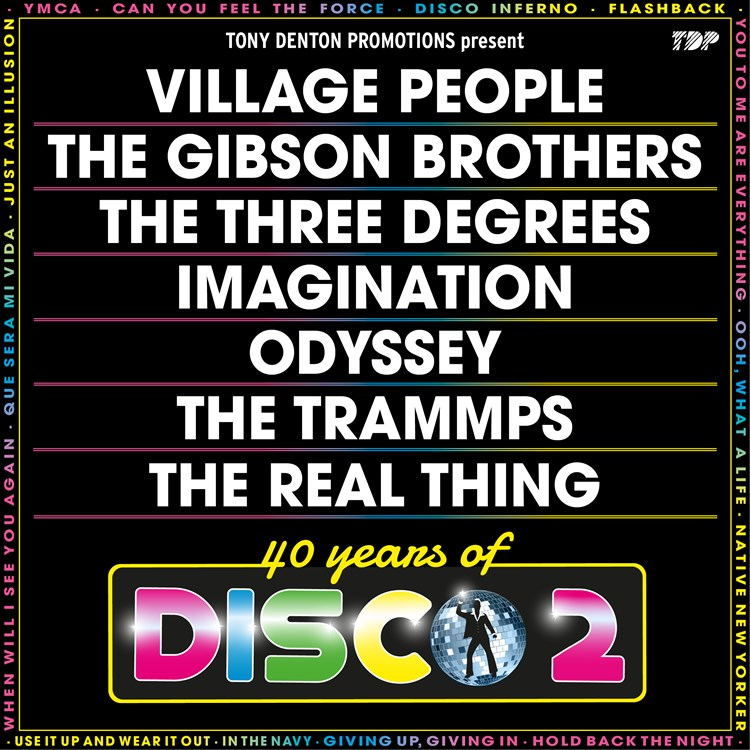 40 Years Of Disco 2 tickets
