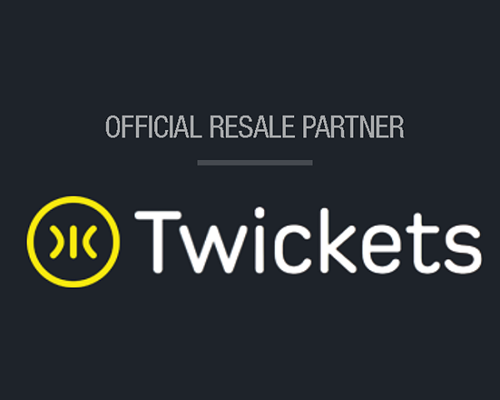 Buy tickets from our official resale partner - Twickets