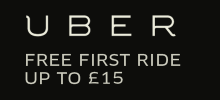 Get £15 off your first Uber ride