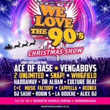 We Love The 90's, Barclaycard Arena, Birmingham