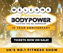 BodyPower Expo, the NEC, Birmingham Tickets