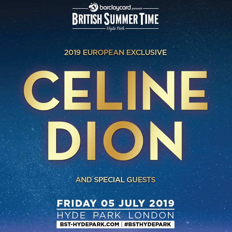Bst Celine Dion Tickets Concert Dates Tour The Ticket Factory