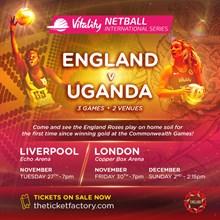 England Netball - England v Uganda