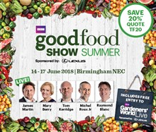 BBC Good Food Show Summer, the NEC, Birmingham Tickets