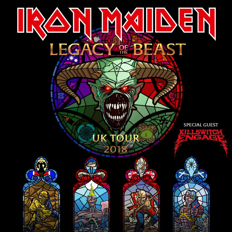 Iron Maiden tickets
