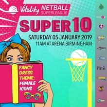 Vitality Netball Superleague Super Ten