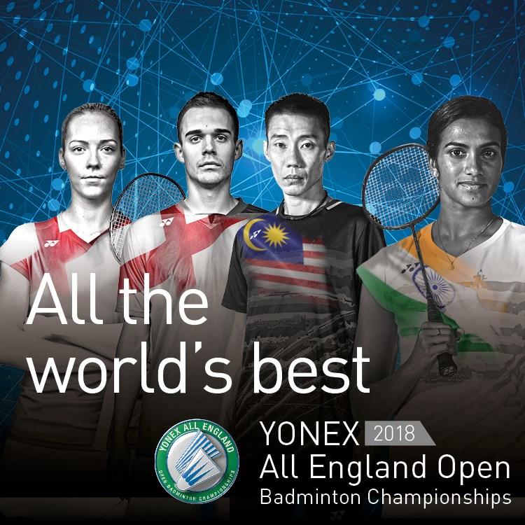 Yonex All England Open Badminton Championships tickets